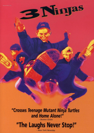 "mutant ninja turtles: notrecinema  BNinras  injas  ""Crosses Teenage Mutant Ninja Turtles  and Home Alone!""  - Boston Globe  ""The Laughs Never Stop!""  New York Newsday"