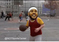 Carmelo Anthony, Sports, and For: @NOTSportsCenter Carmelo Anthony, getting ready for the season https://t.co/iXRDhaIn2t