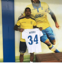 Memes, Prince, and Kevin-Prince Boateng: NOURI  34 Kevin Prince Boateng will wear an Abdelhak Nouri top under his Las Palmas shirt for the whole season. Class act 👏
