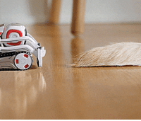 Tumblr, Blog, and Mini: novelty-gift-ideas:  Cozmo: A Mini Robot With a Personality That Evolves The More You Play With Him