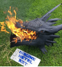 Tumblr, Blog, and Dragon: novelty-gift-ideas:  Dragon firepit