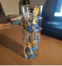 Tumblr, Blog, and Fallout: novelty-gift-ideas:  Fallout shot glasses