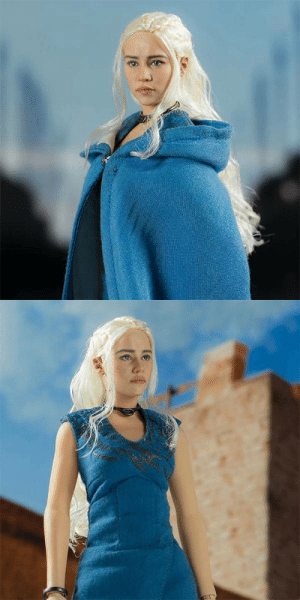 Game of Thrones, Tumblr, and Daenerys Targaryen: novelty-gift-ideas:  Game of Thrones: Daenerys Targaryen 1/6 Scale Figure