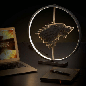 Game of Thrones, Tumblr, and Blog: novelty-gift-ideas:  Game of Thrones LED Stark Crest Lamp