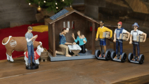 novelty-gift-ideas:  Hipster Nativity Set  : novelty-gift-ideas:  Hipster Nativity Set
