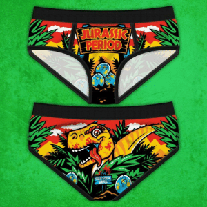 Period, Tumblr, and Blog: novelty-gift-ideas:  Jurassic Period Panties