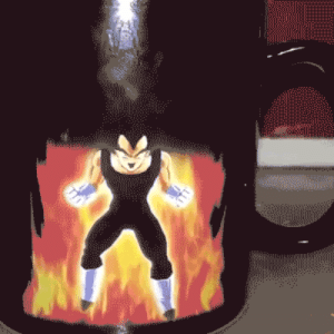 Tumblr, Vegeta, and Blog: novelty-gift-ideas:    KamehameMug