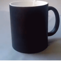 Tumblr, Blog, and Coffee: novelty-gift-ideas:Lighting Cat Color Changing Coffee Mug