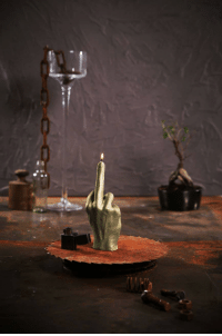 novelty-gift-ideas:  Middle Finger Candle  : novelty-gift-ideas:  Middle Finger Candle