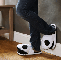 Christmas, Tumblr, and Blog: novelty-gift-ideas:  Nightmare Before Christmas Jack Slippers