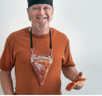 Pizza, Tumblr, and Blog: novelty-gift-ideas:  Portable Pizza Pouch