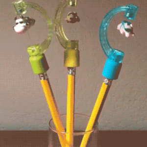 Tumblr, Blog, and Com: novelty-gift-ideas:  Skydiving Pencil Toppers