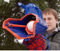 Tumblr, Blog, and Com: novelty-gift-ideas:  Snowball Slingshot