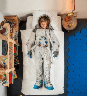 novelty-gift-ideas:  Space Astronaut Bed Set  : novelty-gift-ideas:  Space Astronaut Bed Set
