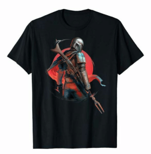 novelty-gift-ideas:  Star Wars The Mandalorian T-Shirt: novelty-gift-ideas:  Star Wars The Mandalorian T-Shirt