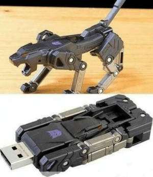 Transformers, Tumblr, and Blog: novelty-gift-ideas:Transformers USB Drive