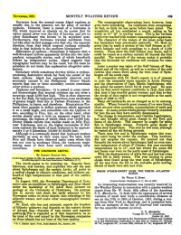 Mosas: NovEMBER, 192  MONTHLY WEATHER REVIEW.  Deviation from the normal course Algué explains asThe oceanographic observations have, however, been  e presence not far awa  hoon. However, there is record of a hurricane in I  fact, so little ice has never before been  The  expedition all but established a record, sailing as far  north as 81° 29' in ice-free water. This is the farthest  eached with modern oceanographic apparatus  The character of the waters of the great polar basin  has heretofore been practically unknown. Dr. Hoel re-  that he made à section of the Gulf Stream at 81°  north latitude and took soundings to a depth of 3,100  i which recurved so sharply on its course that its  enter passed twice over the city of Levuka, and yet no  isturbance was known to be anvwhere near. north e  Furthermore, this hurricane traveled northwest from  take in that latitude in the southern hemisphere.?7  meters.  These show the Gulf Stream very  ometımes it happens that a  well-developed cyclone apparently divides into two inde-  could be traced as a surface current till bevond the 81st  endent, comparable storms, each of which henceforth parallel. The warmth of the waters mak  orova rlic bdrdem denat bourhe. cAle ie tehat that the favorable ioe conditions will continuo for some  topographic barriers mav be the cause, but the cases he  time  Later a section was taken of the Gulf Stream off Bear  Island and off the Isfjord, as well as a section of the cold  considers do not make this  explanation altogether sa  ent that comes ddown alon  bergen off the south c  In connection with Dr. Hoel's report, it is of interest  to note the unusually warm summer in Arctic Norway  and the observations of Capt. Martin Ingebrigtsen, who  has sailed the eastern Arctic for 54 years past. He says  that he first noted warmer conditions in 1918, that since  that time it has steadily gotten warmer, and that to-day  on is not recognizable as the same  as  enters in the Philippines. Doctor Okada 