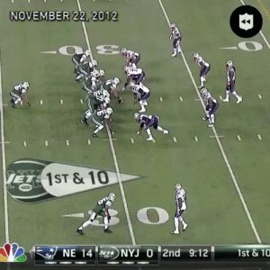 Mark Sanchez has retired. Turnovers will never be the same. 🐐  https://t.co/EuON98zD5s: NOVEMBER 22, 2012  KE1ST &10  NE 14  NYJ O 2nd 9:12  1st &10 Mark Sanchez has retired. Turnovers will never be the same. 🐐  https://t.co/EuON98zD5s
