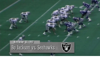 Memes, Run, and Super Bowl: November 30, 198  Bo Jackson vs. Seahawks  RAIDERS 91 Days until #Kickoff2017?  Here's every 91-yard touchdown run of the Super Bowl era! https://t.co/jXTJR9y6un