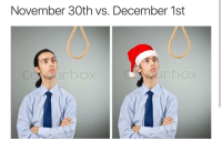 """Christmas, Memes, and Http: November 30th vs. December 1st  COIrbox <p>christmas is coming via /r/memes <a href=""""http://ift.tt/2i78ntd"""">http://ift.tt/2i78ntd</a></p>"""