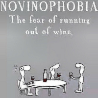 Drunk, Life, and Run: NOVINOPHOBIA  The fear of running  out of wine, Life's too short to pretend you don't like catchy Taylor swift songs or getting drunk & having anal. 🍷💩❤️