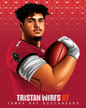 Now blocking for @TomBrady, @Buccaneers first-round pick @TristanWirfs74!  📺: 2020 #NFLDraft on NFLN/ESPN/ABC 📱: https://t.co/G7fI4L8MxF https://t.co/hnBNZNafLb: Now blocking for @TomBrady, @Buccaneers first-round pick @TristanWirfs74!  📺: 2020 #NFLDraft on NFLN/ESPN/ABC 📱: https://t.co/G7fI4L8MxF https://t.co/hnBNZNafLb