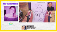 Af, Lmao, and Selfie: NOW CARICATURIZING  CAP  Caslyn Grace  BRATZ doll alert! Submit a selfie!  drop a comment below and get involved. #superdeluxe #lmao #ad #af