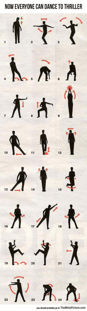 lolzandtrollz:  How To Easily Thriller: NOW EVERYONE CAN DANCE TO THRILLER  10  12  13  14  15  16  17  18  1920  21  23  24  you should probably go to TheMetaPicture.com lolzandtrollz:  How To Easily Thriller