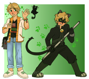 snowylynxx:  absolute CHAD NOIR redesign as a companion to mari's redesign(i had to look up high end fashion for adrien bc his canon outfit is……. ugly lol. also his bracelets are from nino and mari and the ladybug charm on his bag is from alya)((headcanon: mari HATES vans but she tolerates them only because adrien wears them)): now ne snowylynxx:  absolute CHAD NOIR redesign as a companion to mari's redesign(i had to look up high end fashion for adrien bc his canon outfit is……. ugly lol. also his bracelets are from nino and mari and the ladybug charm on his bag is from alya)((headcanon: mari HATES vans but she tolerates them only because adrien wears them))