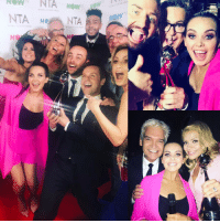 Memes, 🤖, and The Dream: Now NIA Now  NTA N NTA What a night!! Two NTAS for Gogglebox and I'm a celeb and hosting backstage... living the dream ntas