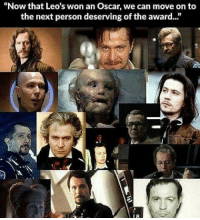 """Memes, Vertigo, and 🤖: """"Now that Leo's won an Oscar, we can move on to  the next person deserving of the award. This Guy is awesome. Fantasyfaceoff KawaiiFaceoff KawaiiComics Comics Geek Fantasy Marvel DcComics Movies BoomStudios Helix Anime Manga Memes Vertigo Variant WildStorm Movies"""