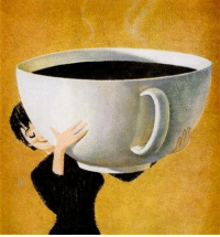 Memes, Coffee, and Wednesday: Now this is the correct size for Wednesday coffee!