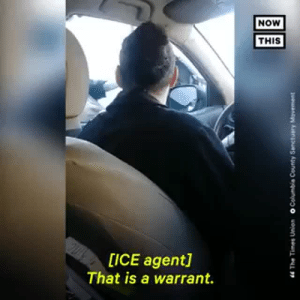 Fucking, Tumblr, and Blog: NOW  THIS  op  [ICE agent]  That is a warrant. classyblacksoul:  judicial warrant administrative warrant So sad that if you don't know your rights they will abuse their power, fucking disgraceful