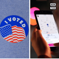 Memes, Uber, and 🤖: NOW  THIS  Vo Transportation issues can be a huge barrier for people to cast a ballot. This election, Lyft and Uber are working to get people to the polls.