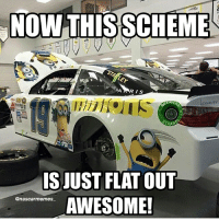 Well, if you like minions of course! And since I do, when I first saw this scheme, I went crazy lol! Carl will be racing this scheme this weekend at Kentucky. NASCAR racing race CarlEdwards Edwards Minions awesome nuffsaid NASCARmemes truestory likeitup follow followme: NOW THISSCHEME  AR is  IS JUST FLAT OUT  @nascar memes  AWESOME! Well, if you like minions of course! And since I do, when I first saw this scheme, I went crazy lol! Carl will be racing this scheme this weekend at Kentucky. NASCAR racing race CarlEdwards Edwards Minions awesome nuffsaid NASCARmemes truestory likeitup follow followme