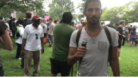 Memes, Square, and White: NOW: Thousands of counter-protesters are gathering at Lafayette Square in DC to shutdown a planned white supremacists rally.