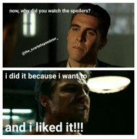 Memes, Arrow, and Watch: now, why did you watch the spoilers?  scarlettspeedster  @the i did it because i want to  and i liked it!!! I'm just done rn😂Idec anymore... 🤷🏾‍♂️🙃🤷🏾‍♂️ Pic via: @the_scarlettspeedster_ arrow oliverqueen stephenamell greenarrow adrianchase prometheus olicity felicitysmoak emilybettrickards johndiggle davidramsey justiceleague dc dccomics spoilers flash legendsoftomorrow supergirl