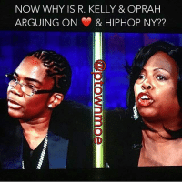 Oprah Winfrey: NOW WHY IS R. KELLY & OPRAH  ARGUING ON & HIPHOP NY??  4