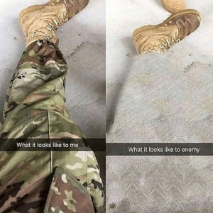 Now you see me now you don't  #medalsofamerica #veteran #multicam #camo #usarmy #usmarines #usnavy #usaf #military #america #solider #militarymeme: Now you see me now you don't  #medalsofamerica #veteran #multicam #camo #usarmy #usmarines #usnavy #usaf #military #america #solider #militarymeme