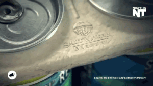 Animals, Beer, and Food: NOWTHIS  Source: We Believers and Saltwater Brewery pepoluan:  neko-setsuka:  butterynutjob:  nowthisnews:  A Tasty Solution   Saltwater Brewery created an answer to floating plastic six pack rings harming the ocean environment and its creatures. Their rings are edible and made from wheat and barley leftover from the beer making process. It's a great way for the brewery to cut back on waste product and provides a snack for fish and other sea dwelling animals. If more companies recycled like this maybe we could cut down on the amount of garbage polluting our waters daily. Kudos, Saltwater Brewery.    Three fat fish show up at your door demanding beer   Unless all the six pack rings are edible, doesn't this just train sea life to think this is food? This is still dangerous if it doesn't dissolve in water.  They already are trying to eat the plastic ones. So, that precaution is out of the door.Wheat and barley will dissolve in water after some time, so this is actually a good idea.
