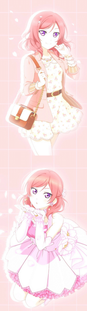Tumblr, Blog, and Flower: nozomi04:  Flower Viewing Ver. Maki