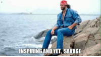 Savage. Randy Savage.: NP  INSPIRING AND YET SAVAGE Savage. Randy Savage.