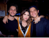 Memes, 🤖, and Dylan: .ns Dylan, Shelley & Tyler celebrating Shelley's birthday together this past weekend ❤ this makes me so happy 😊