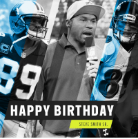 Birthday, Memes, and Steve Smith: NS  HAPPY BIRTHDAY  STEVE SMITH SR 5x Pro Bowler. 2x All-Pro. And @nflnetwork analyst.  Let's all wish @89SteveSmith a HAPPY birthday! 🎂 https://t.co/AK1wRHjnVG