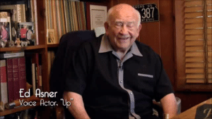 Voice Actor: NSAS 55  T STATE  Ed Asner  Voice Actor. Up