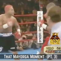That Moment Mayorga Would Let you crack at his chin (PT. 3) boxingmemes titotrinidad: NSTAGRAM  HBO :56  THAT MAYORGA MOMENT (PT3) That Moment Mayorga Would Let you crack at his chin (PT. 3) boxingmemes titotrinidad