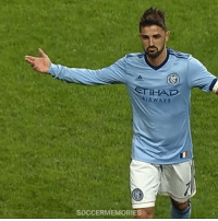 Memes, Goal, and David Villa: NSTIHAD  soccERMEMORIES David Villa scores an incredible goal from 50 yards away 😱😱