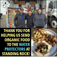 Thanks to the generosity and support of our network of organic consumers, we will be able to send about $36,000 worth of organic food and supplies to the Water Protectors at Standing Rock. We've already sent $8,000 worth so far: http://orgcns.org/2fXMlZL #NoDAPL #WaterIsLife #StandWithStandingRock: NSUMA  ASSOCIATIO  THANK YOU FOR  HELPING US SEND  ORGANIC FOOD  TO THE  WATER  PROTECTORS  AT  STANDING ROCK!  89 Thanks to the generosity and support of our network of organic consumers, we will be able to send about $36,000 worth of organic food and supplies to the Water Protectors at Standing Rock. We've already sent $8,000 worth so far: http://orgcns.org/2fXMlZL #NoDAPL #WaterIsLife #StandWithStandingRock