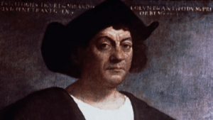 Daily reminder that columbus was an idiot: NT IGIES TRVR iAND  av1. PENETRANIG IN  COLVNEANT POD M.PR  ORBEN Daily reminder that columbus was an idiot