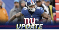 Memes, Odell Beckham Jr., and Giants: nt  UPDATE Odell Beckham Jr. (ankle) back at @Giants practice: https://t.co/pAJGTsFfVV #DETvsNYG https://t.co/wl7VZ19vuB